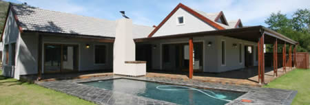 The Woods Lake Brenton Knysna - A completed House